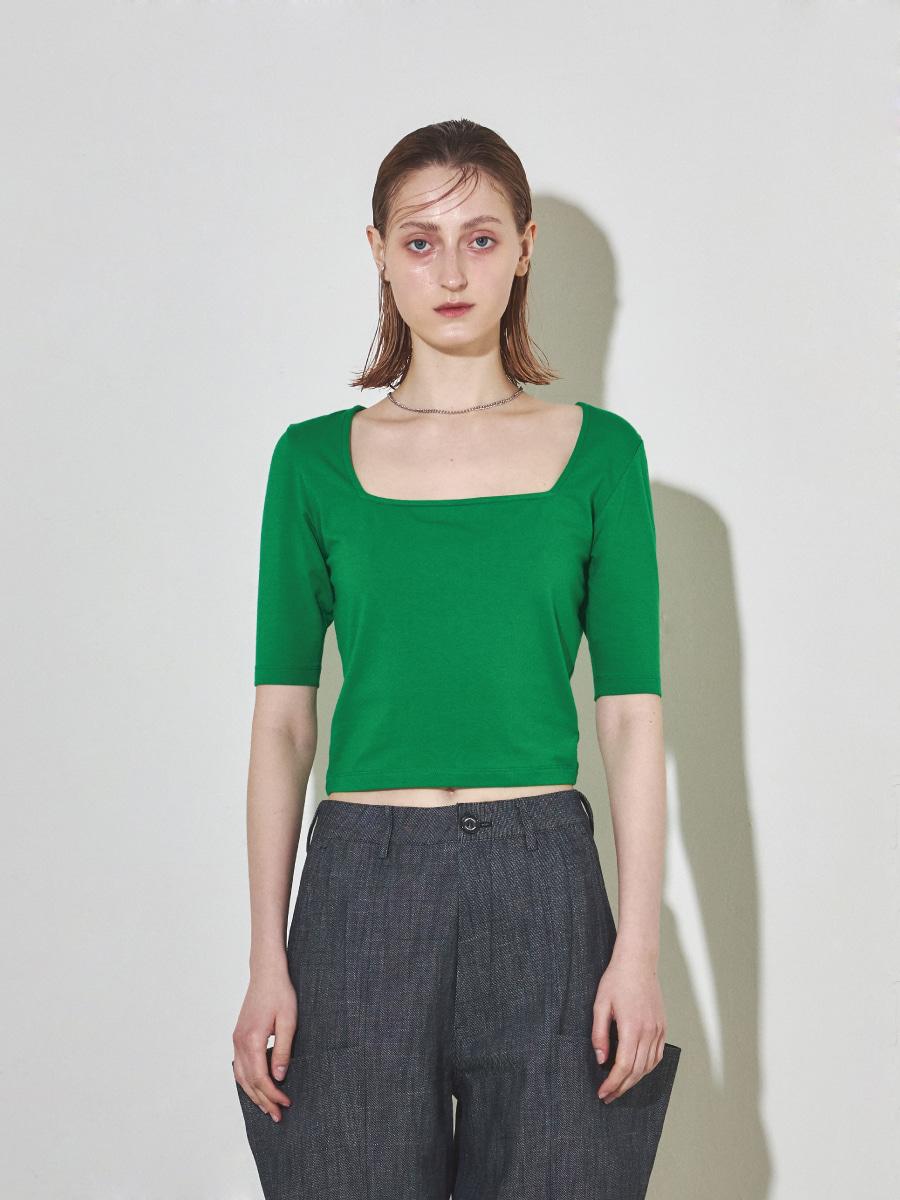 Square Slim Top (Green)