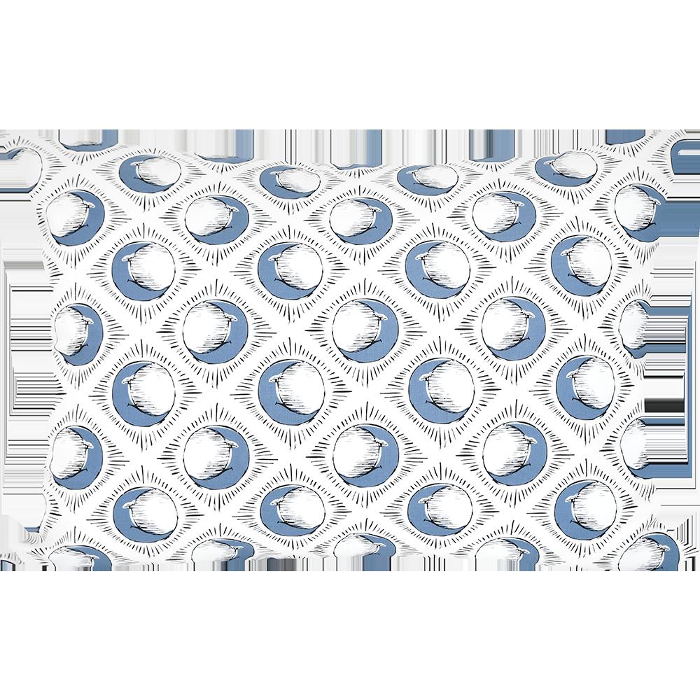 Sun & Blue Moon Pillowcase by Tool Press