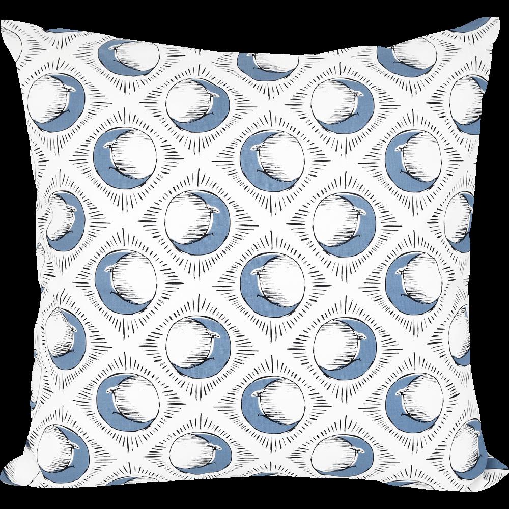 Sun & Blue Moon Cushion by Tool Press