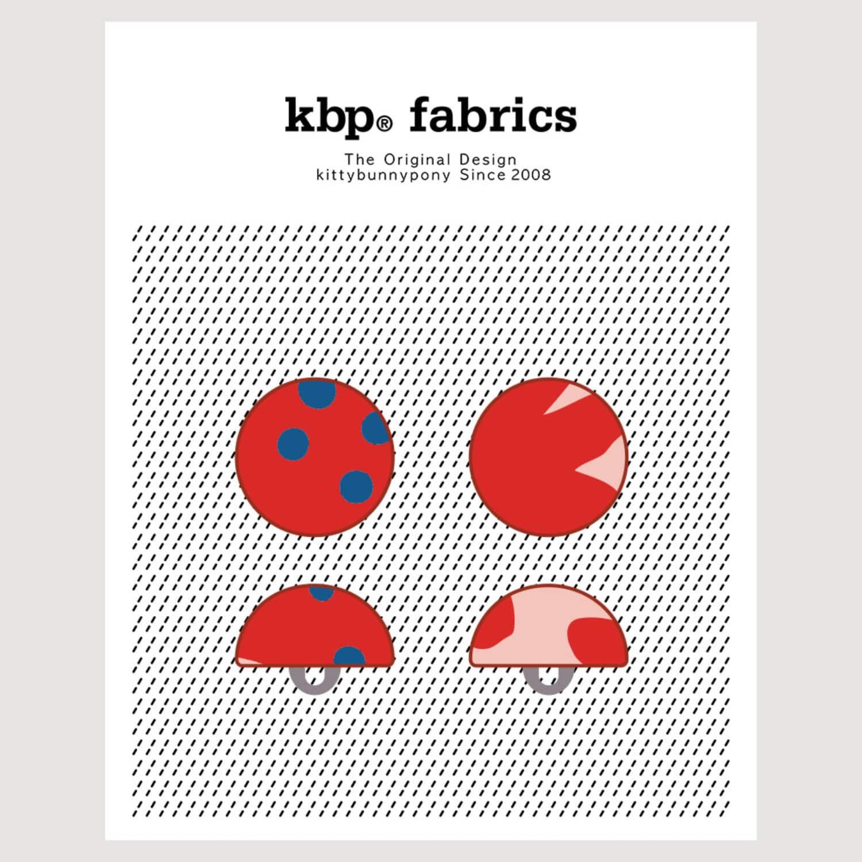 KBP Fabrics Dome Button 15mm