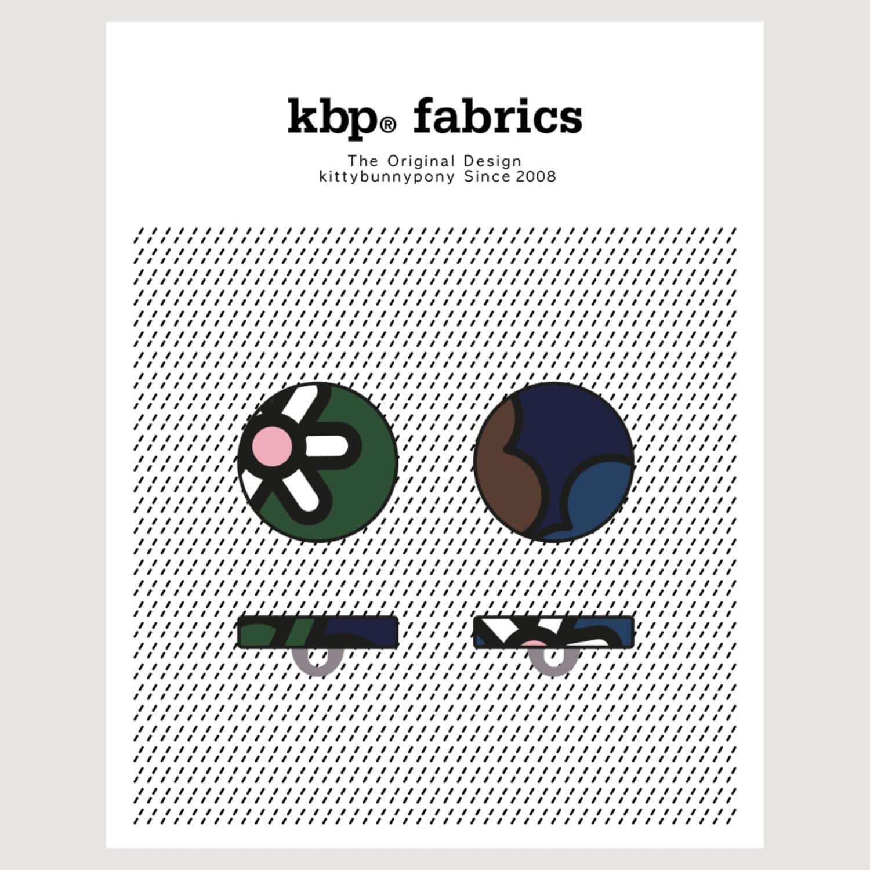 KBP Fabrics Flat Button 15mm