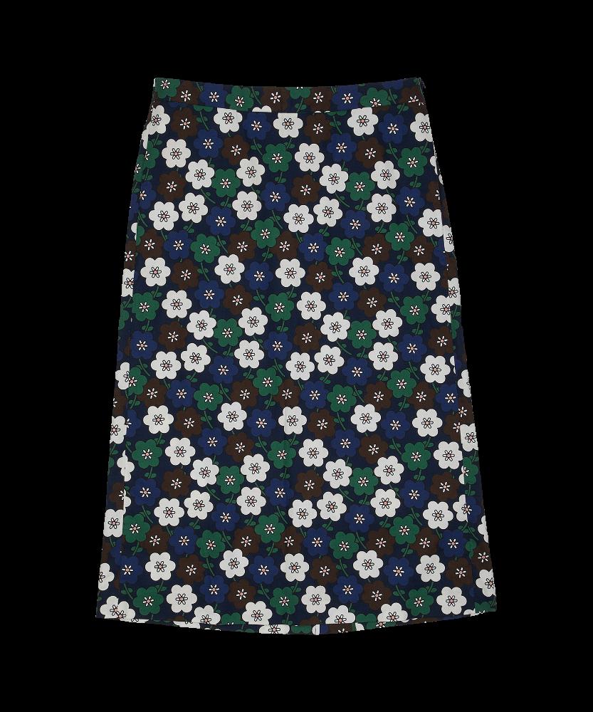 KBP X STUDIO OHYUKYOUNG Mid Tuin Skirt