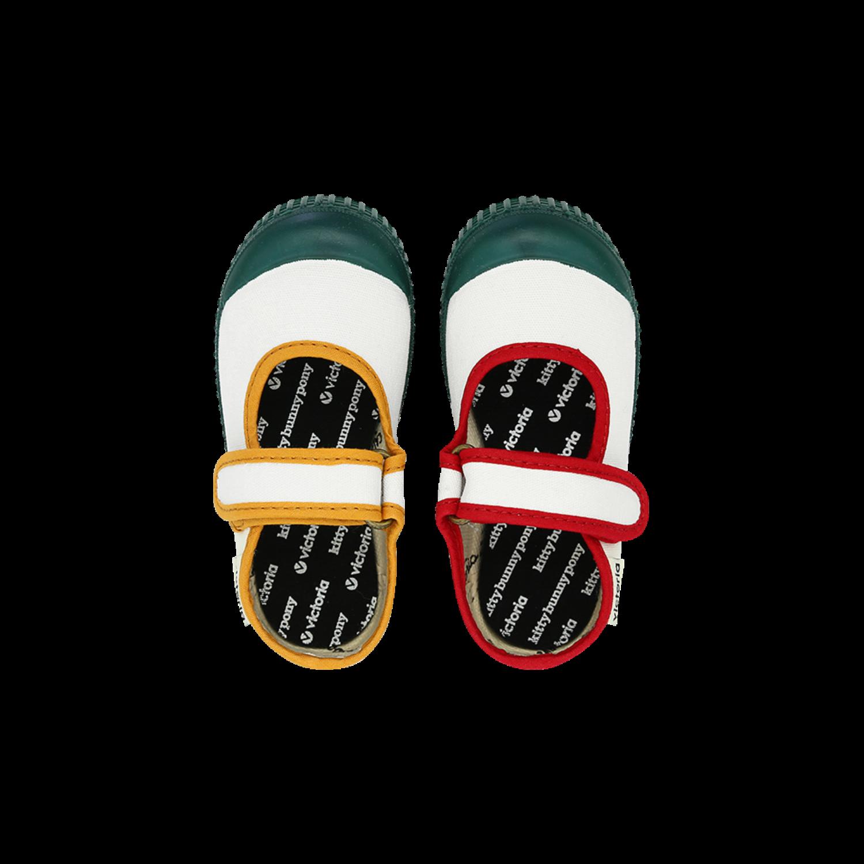 KBP X Victoria Shoes Kids Quatro Universe Velcro Shoes