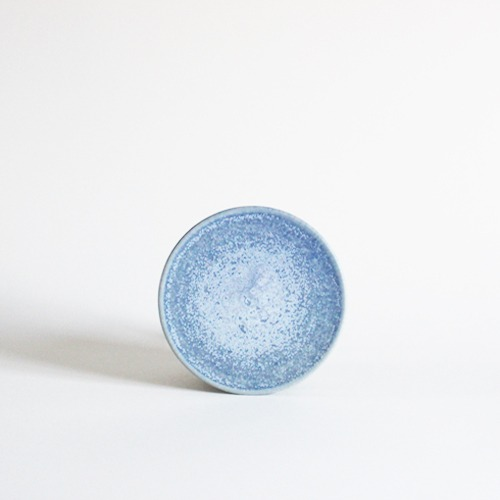 plate (13.5cm) - sky blue [sold out]