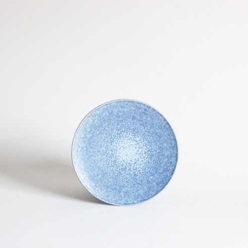plate (16.6cm) - sky blue [sold out]