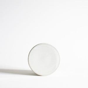 plate (10cm) - white Ⅲ