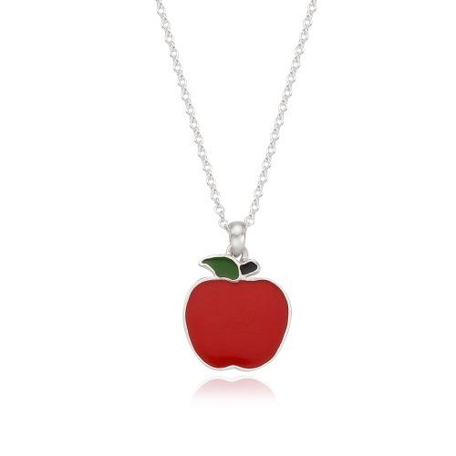 펜트하우스,설아 애플 목걸이 실버925 (무도금)