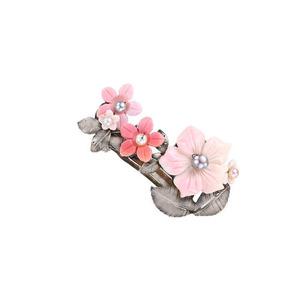 어쩌다 발견한 하루, 분홍꽃 머리핀 실버925 (연예인 착용)