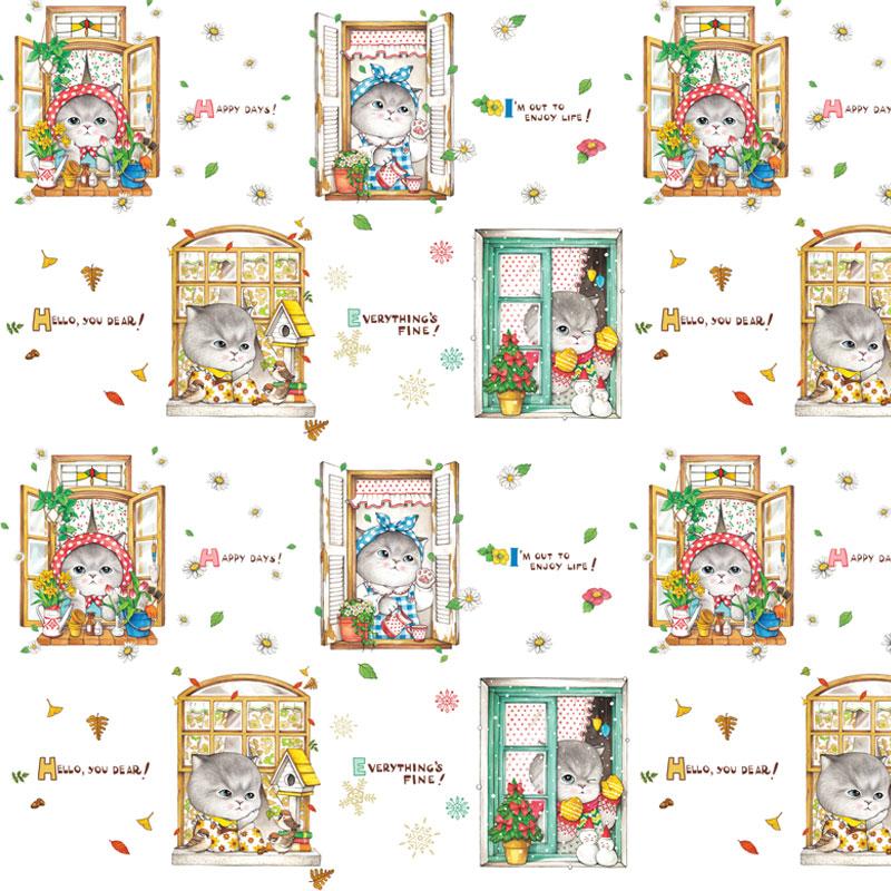 パターンシリーズ - Four seasons (145X90cm)