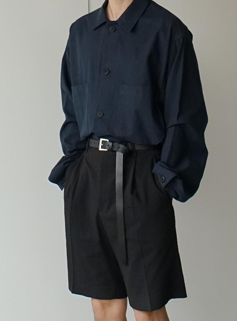Long Leather Belt #2