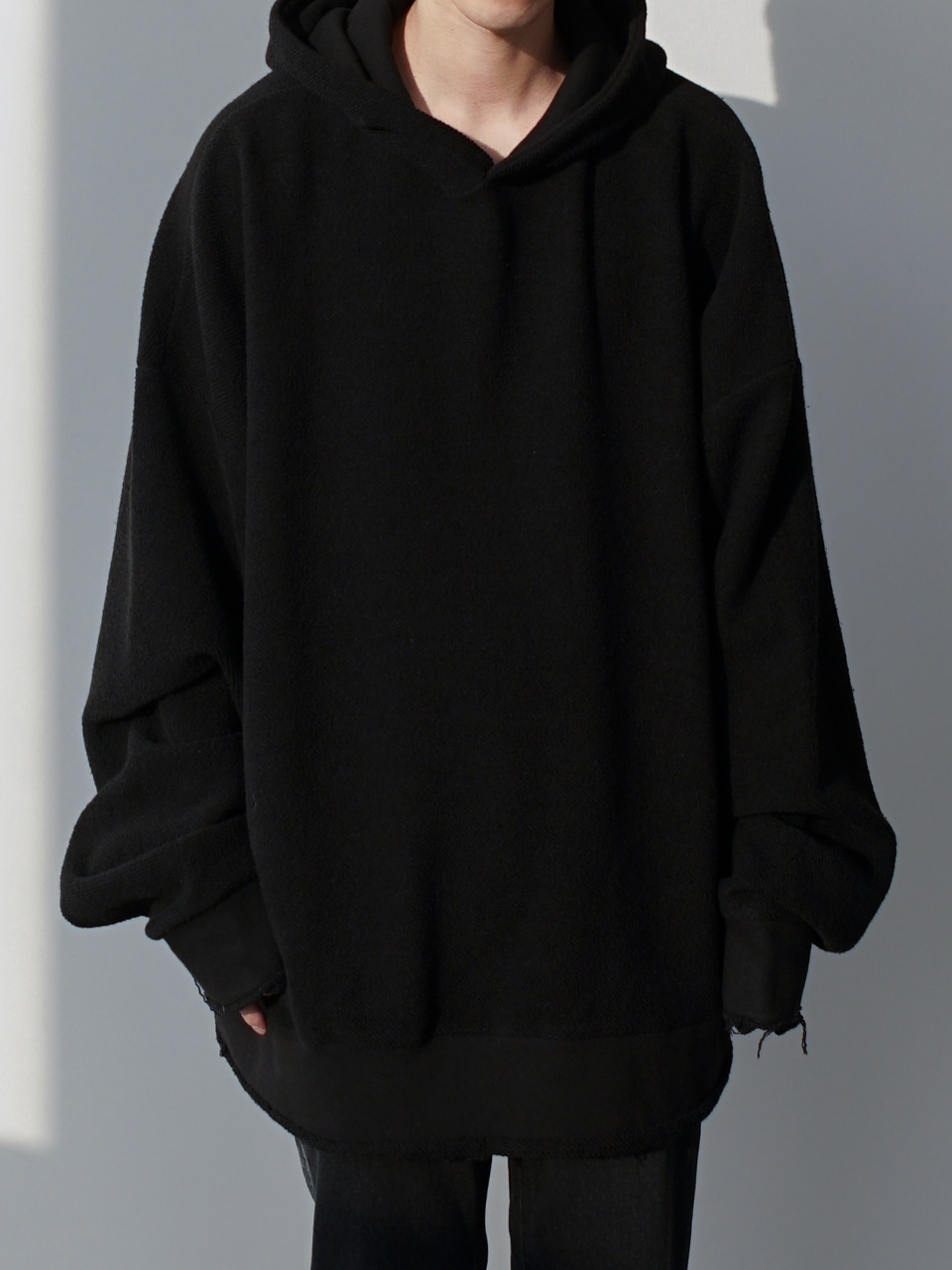 Martin Reverse Oversized Hoodie (3color)