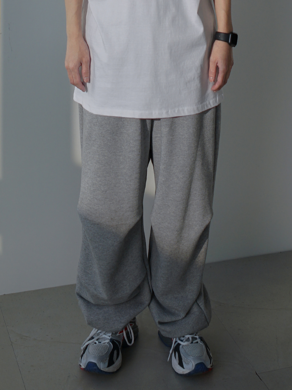 Brown Over Sweatpants (2color)