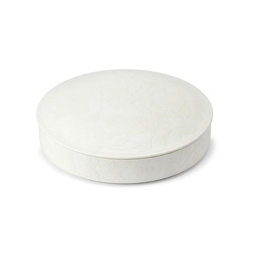 KwangJuyo Heritage MokDan Seven Delicacies Platter Set (White)