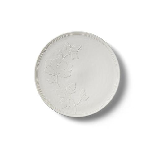 KwangJuyo Heritage MokDan Dessert Plate 17 (White)