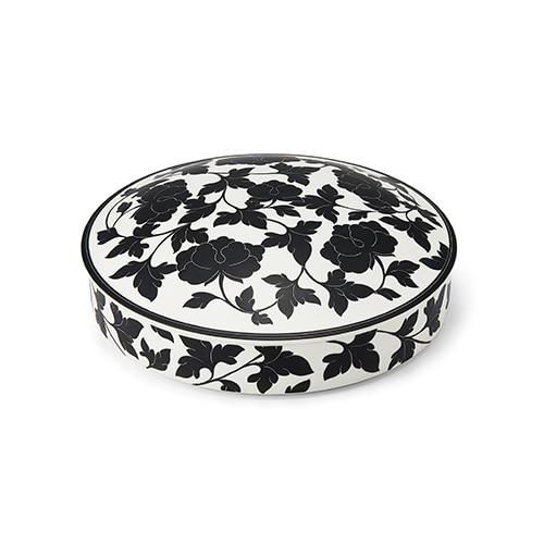 KwangJuyo Heritage MokDan Seven Delicacies Platter Set (Black)