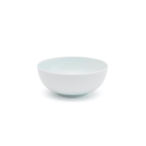 KwangJuYo Classic White MokDan-Mun Bowl 13