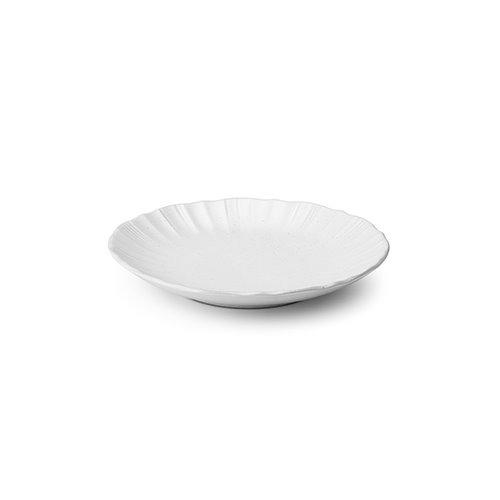 Seashell Series White Side Dish 17