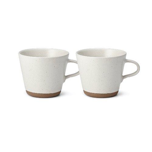 백합 백색 커피잔 2p+패키지