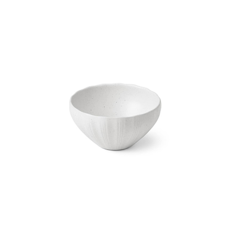 백합 백색 볼 11(밥그릇)