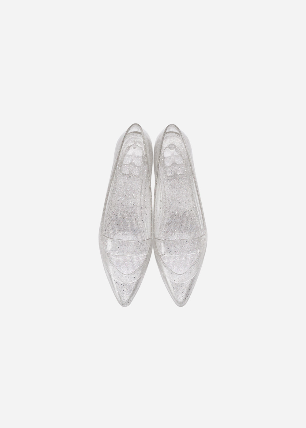 [Heavenly Jelly] Sleek Glitter Silver