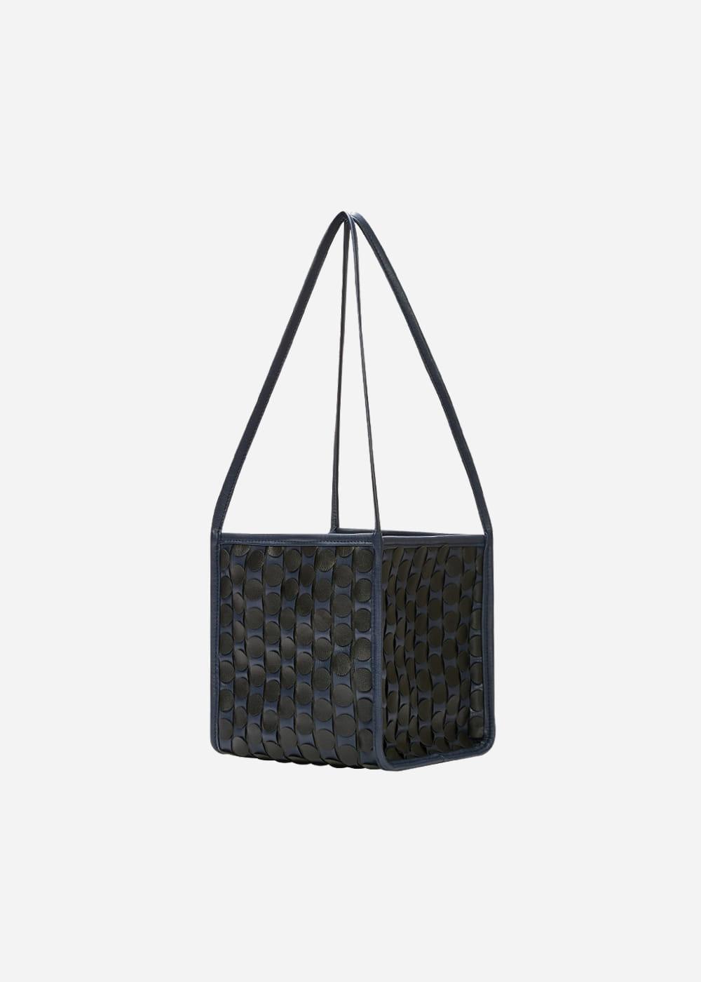 0917 Handmade Weaving Tote Medium NB