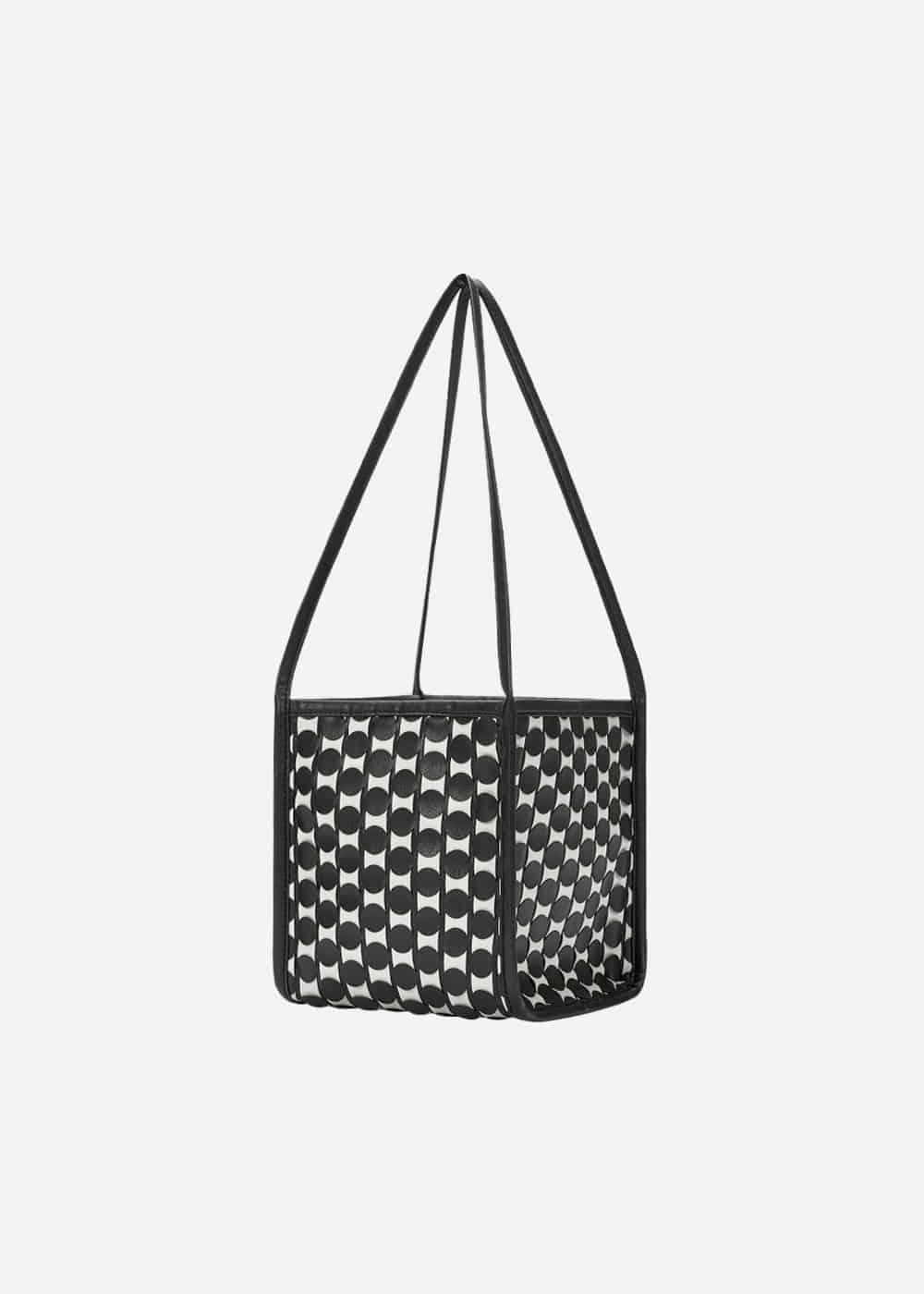 0917 Handmade Weaving Tote Medium WB