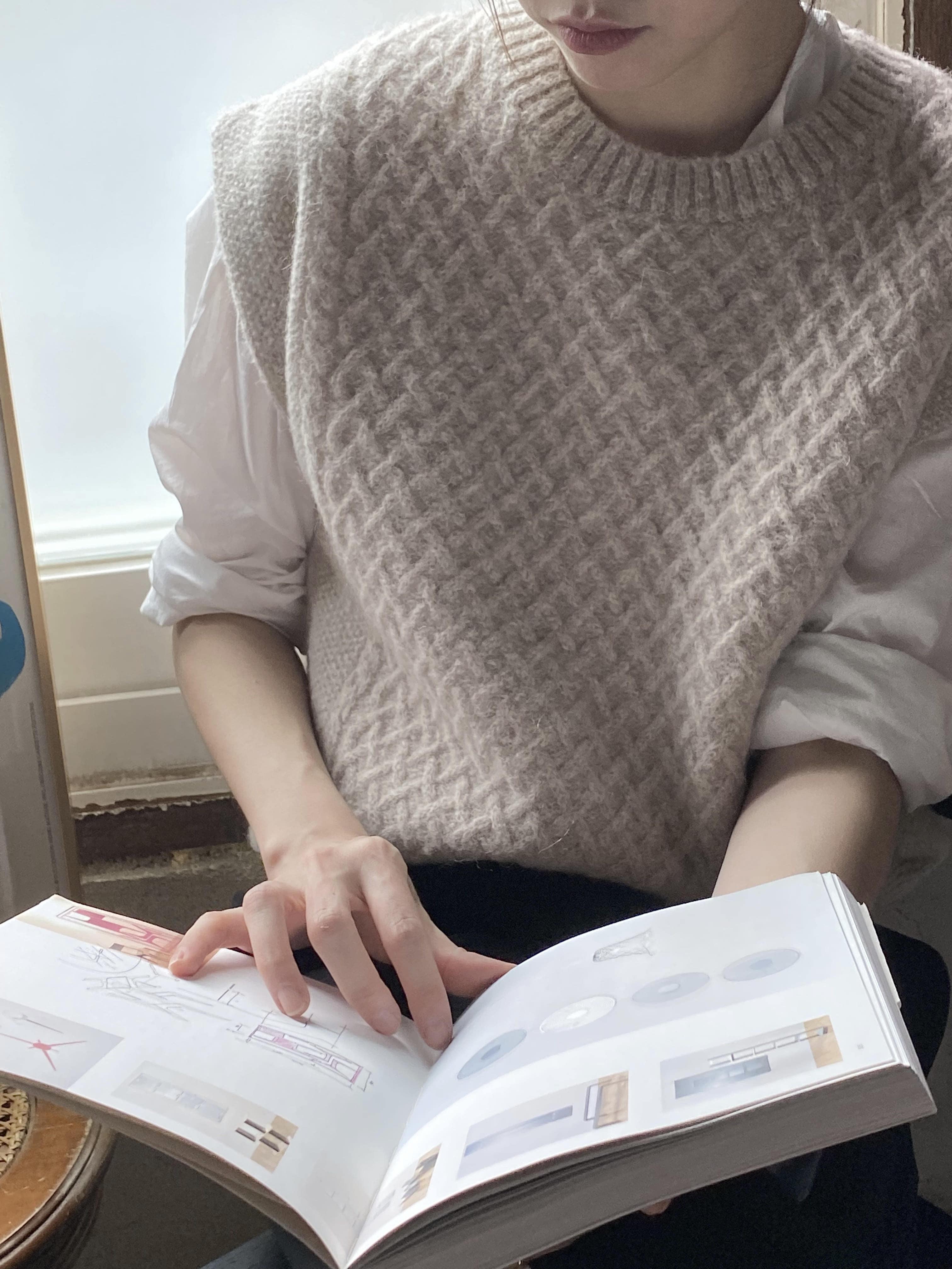 Kidmo knit vest