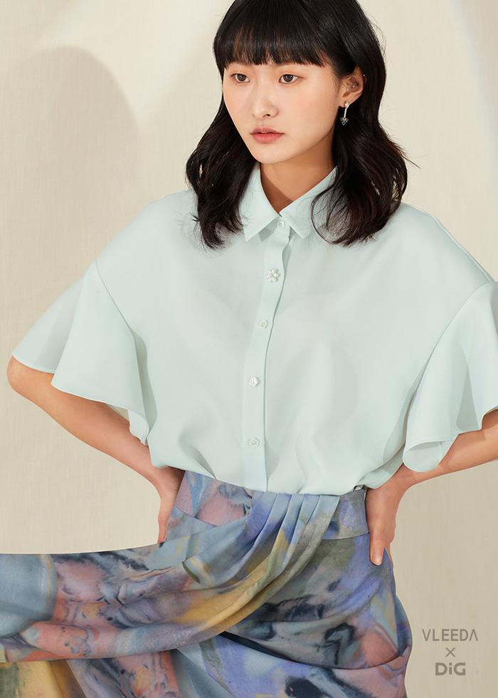 [VLEEDAxDiG] Camille blouse_mint