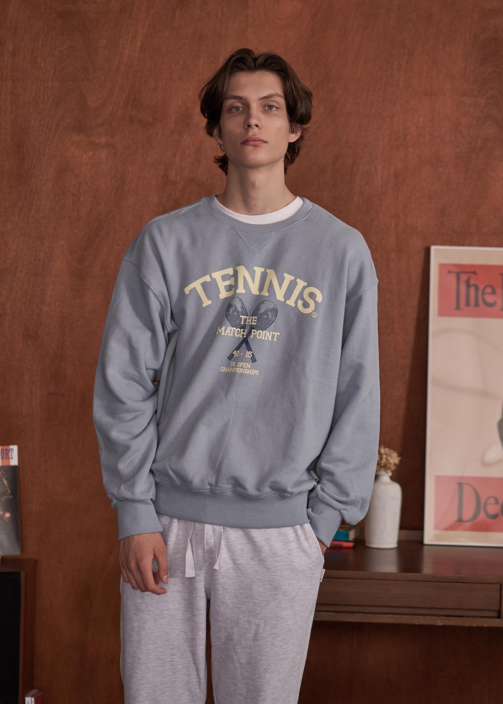 클래식 테니스 스웻셔츠 [소라]
