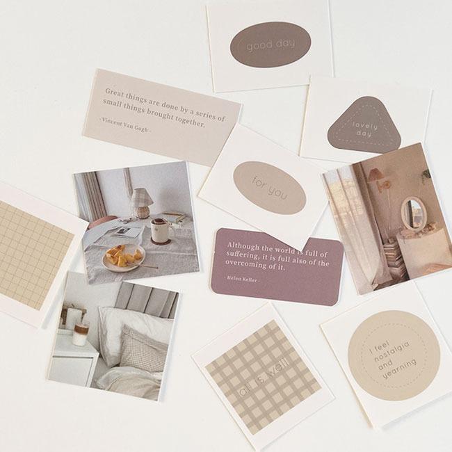 [uoe studio] deco sticker & card