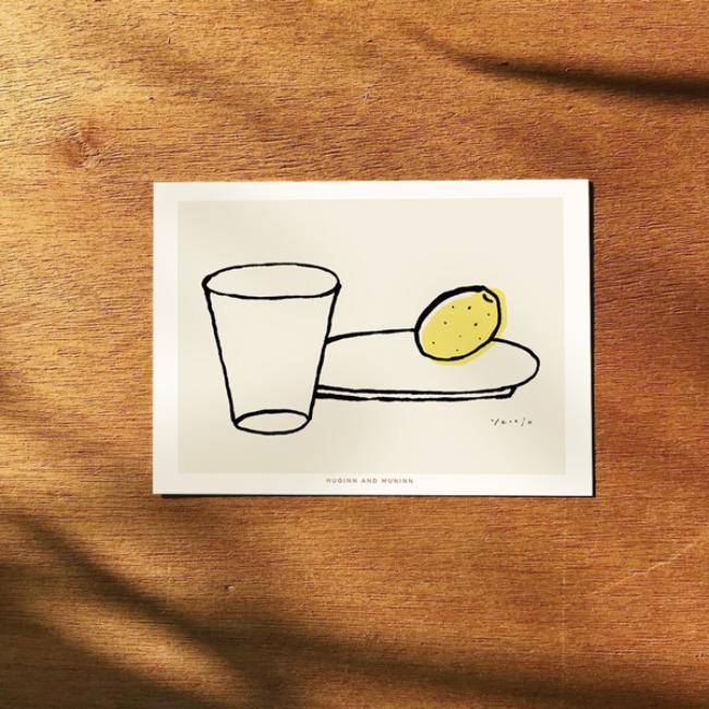 [후긴앤무닌] cup and lemon