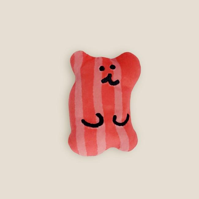 [다이노탱] Bacon Bobo Keyring