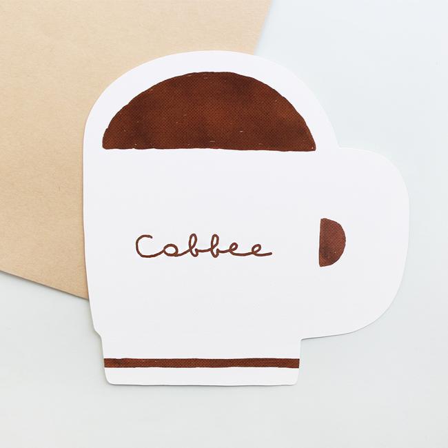 [겨울엔토스트가좋아] 조식카드 커피
