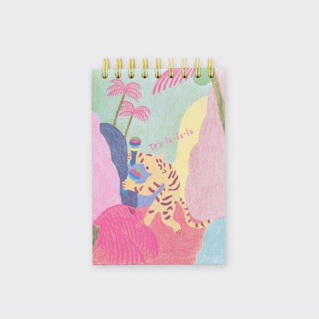 [소소문구] Day and Night Sketch Book : Tra-la-la