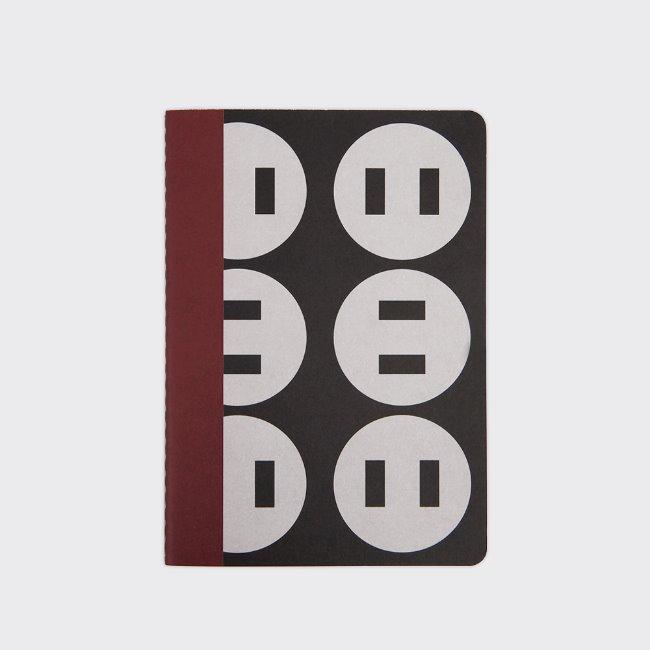 [소소문구] KBP A6 Notebook - Button Up