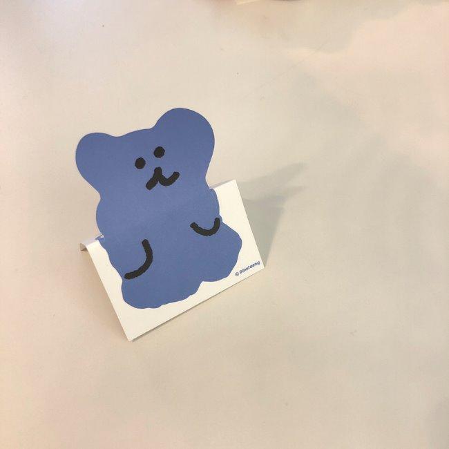 [다이노탱] Bobo Removable Sticker