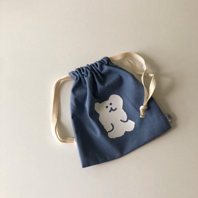 [다이노탱] Blueberry String Pouch