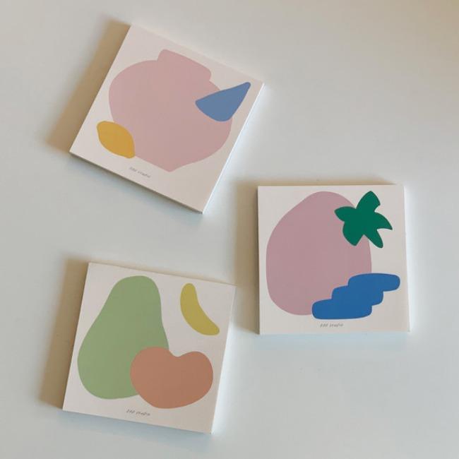 [ppp studio] color post it