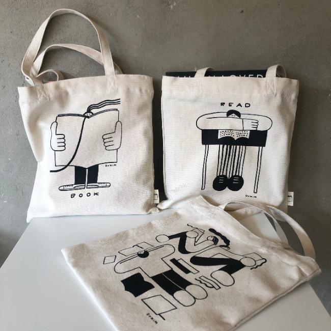 [object x DYKIM] BOOK BAG