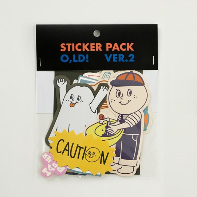 [오롤리데이] O,LD! Sticker pack_02