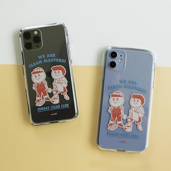 [오롤리데이] Phone case_Clean club