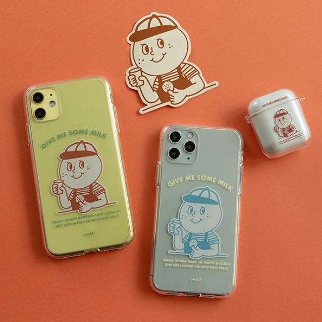 [오롤리데이] Phone case_Milk
