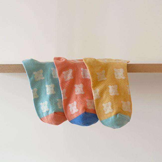 [다이노탱] BOBO Pattern Socks