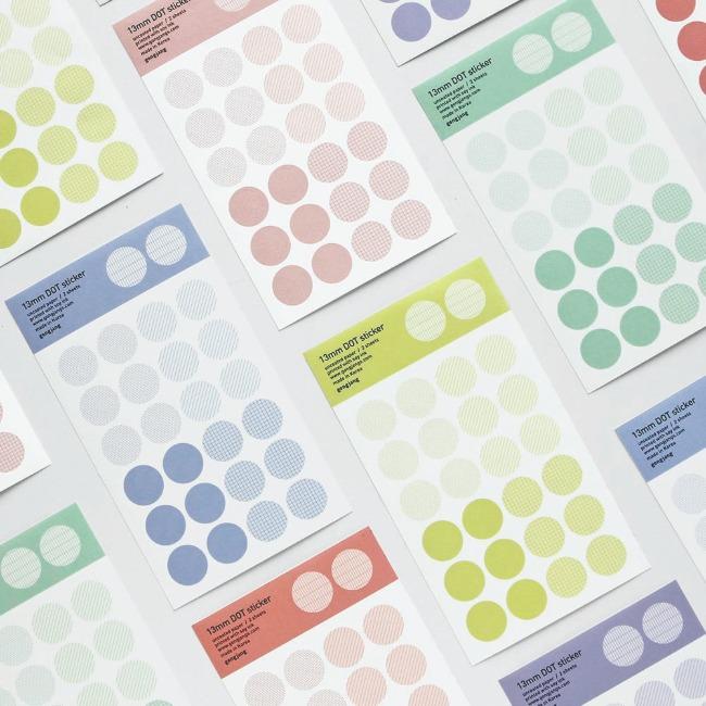 [공장] 13mm Dot sticker