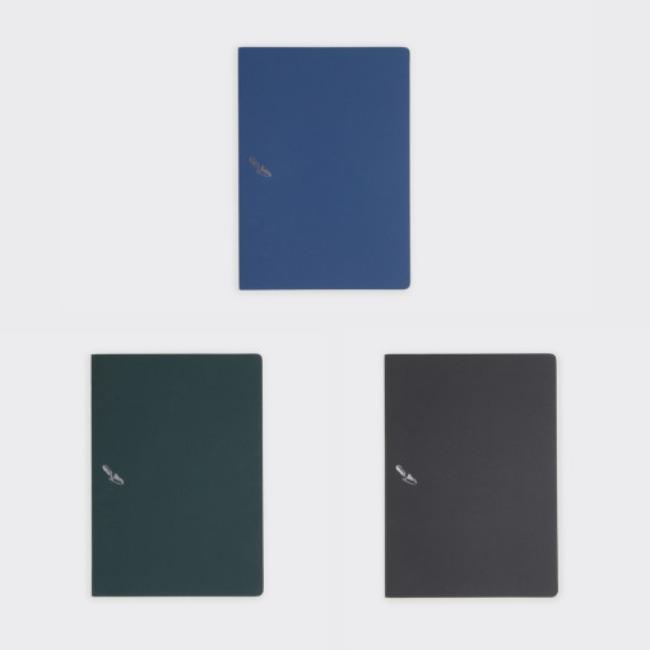 [소소문구] 디깅 노트 원그라운드: 실버 길딩