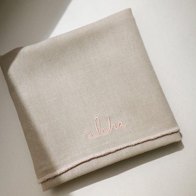 [얼그레이] Fabric Letter_ aloha