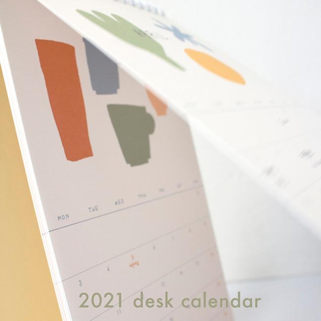[ppp studio] 2021 desk calendar