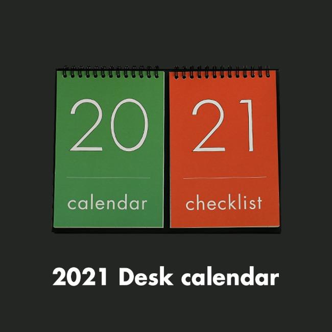 [오롤리데이] [Calendar] 2021 Desk Calendar