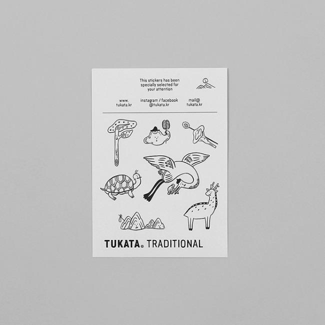 [뚜까따] TRADITIONAL Stickers