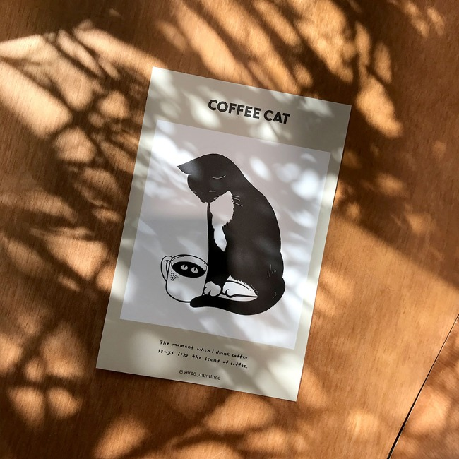 [문제이] 스티커 - COFFEE CAT
